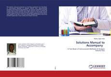 Bookcover of Solutions Manual to Accompany