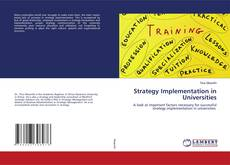 Strategy Implementation in Universities的封面