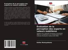 Évaluation de la perception des experts en valeurs mobilières kitap kapağı