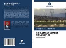 Portada del libro de RISIKOMANAGEMENT-PHILOSOPHIE