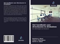 Bookcover of Het handboek voor directeuren in Zimbabwe