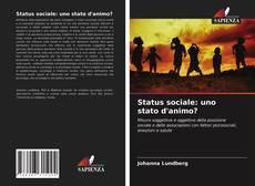 Capa do livro de Status sociale: uno stato d'animo?