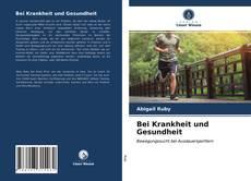 Buchcover von Bei Krankheit und Gesundheit