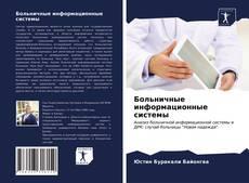 Capa do livro de Больничные информационные системы