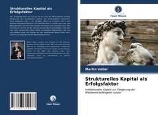 Bookcover of Strukturelles Kapital als Erfolgsfaktor