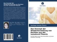 Das Konzept der Wiederherstellung von Rechten aus der iusnatural-Theorie kitap kapağı