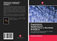 Capa do livro de Pogostemon benghalensis (Fitoquímica e Atividade Biológica)