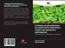 Criblage phytochimique du sanctuaire d'Ocimum contre les bactéries pathogènes kitap kapağı