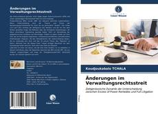 Bookcover of Änderungen im Verwaltungsrechtsstreit