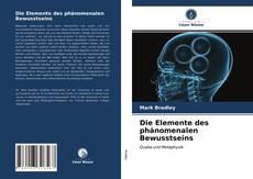 Capa do livro de Die Elemente des phänomenalen Bewusstseins