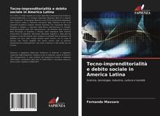 Tecno-imprenditorialità e debito sociale in America Latina kitap kapağı