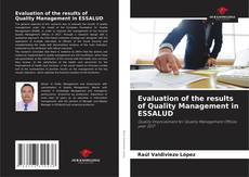Portada del libro de Evaluation of the results of Quality Management in ESSALUD