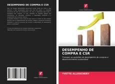 Portada del libro de DESEMPENHO DE COMPRA E CSR