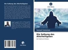 Buchcover von Die Salbung des Allerheiligsten