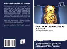 Обложка Острая мезентериальная ишемия