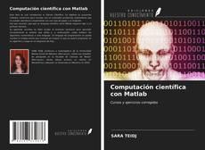 Capa do livro de Computación científica con Matlab
