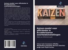 Bookcover of Kaizen-model voor efficiëntie in Ecuadoriaanse overheidsinstellingen