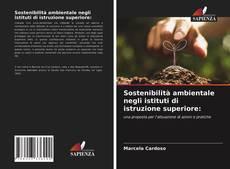 Bookcover of Sostenibilità ambientale negli istituti di istruzione superiore: