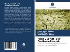Buchcover von Musik-, Sprach- und Zweitspracherwerb