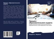 Bookcover of Процесс образовательного аудита