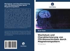 Portada del libro de Wachstum und Charakterisierung von ITO-Dünnschichten durch Magnetronsputtern