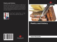 Buchcover von Poetry and history
