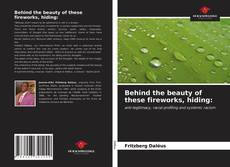 Portada del libro de Behind the beauty of these fireworks, hiding: