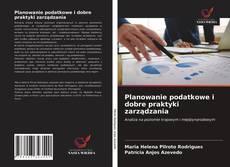 Обложка Planowanie podatkowe i dobre praktyki zarządzania