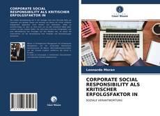 Borítókép a  CORPORATE SOCIAL RESPONSIBILITY ALS KRITISCHER ERFOLGSFAKTOR IN - hoz
