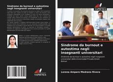 Portada del libro de Sindrome da burnout e autostima negli insegnanti universitari