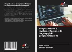 Capa do livro de Progettazione e implementazione di linguaggi di programmazione