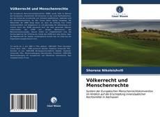 Bookcover of Völkerrecht und Menschenrechte