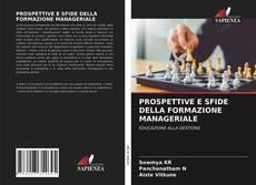 PROSPETTIVE E SFIDE DELLA FORMAZIONE MANAGERIALE kitap kapağı
