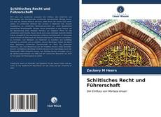 Copertina di Schiitisches Recht und Führerschaft