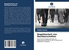 Bookcover of Begehbarkeit von Nachbarschaften