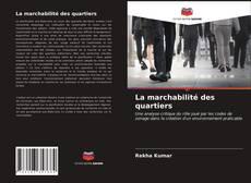 Обложка La marchabilité des quartiers