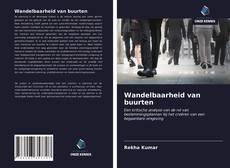 Wandelbaarheid van buurten kitap kapağı