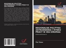 Capa do livro de REGIONALNA POLITYKA ZATRUDNIENIA I RYNKU PRACY W IDA-VIRUMAA