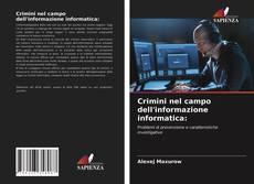 Bookcover of Crimini nel campo dell'informazione informatica: