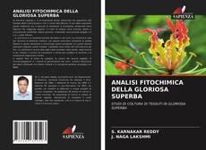 Обложка ANALISI FITOCHIMICA DELLA GLORIOSA SUPERBA