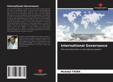 Bookcover of International Governance
