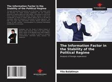 Borítókép a  The Information Factor in the Stability of the Political Regime - hoz