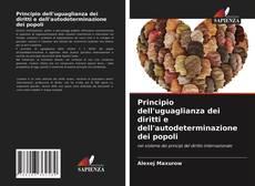 Capa do livro de Principio dell'uguaglianza dei diritti e dell'autodeterminazione dei popoli