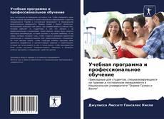 Обложка Учебная программа и профессиональное обучение