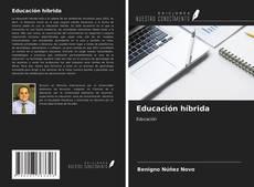 Buchcover von Educación híbrida