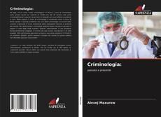 Criminologia: kitap kapağı