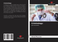 Capa do livro de Criminology: