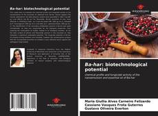 Bookcover of Ba-har: biotechnological potential