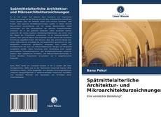 Portada del libro de Spätmittelalterliche Architektur- und Mikroarchitekturzeichnungen