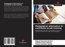 Bookcover of Pedagogical alternative to contribute to job training